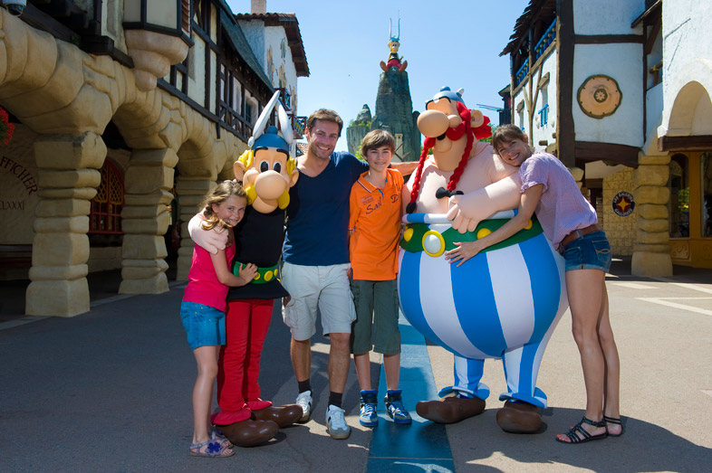 Asterix Park Entertain Tours