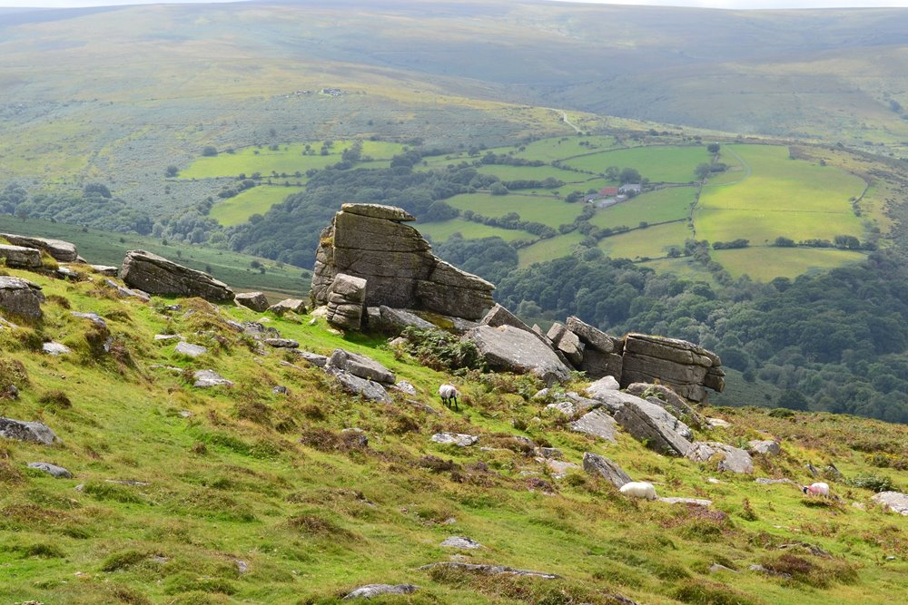 Dartmoor landscape Entertain Tours