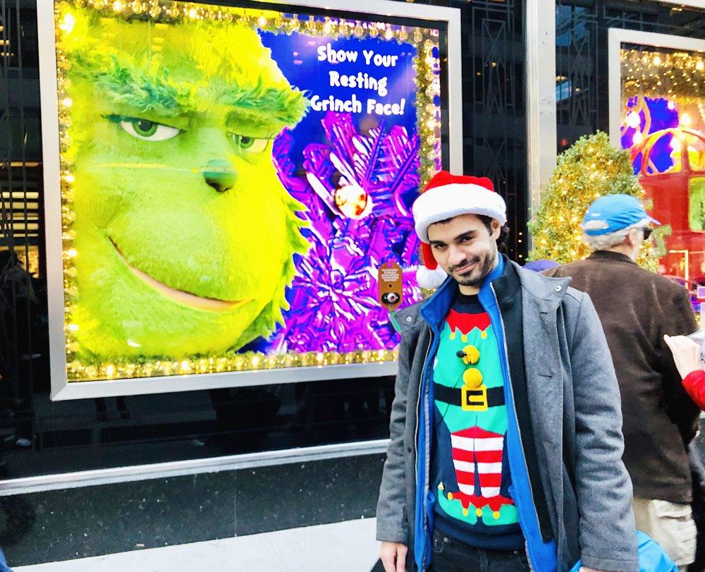 Kevin allein in New York grinch Entertain Tours